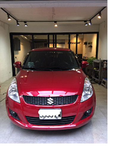 SUZUKI SWIFT 全車凹痕修復
