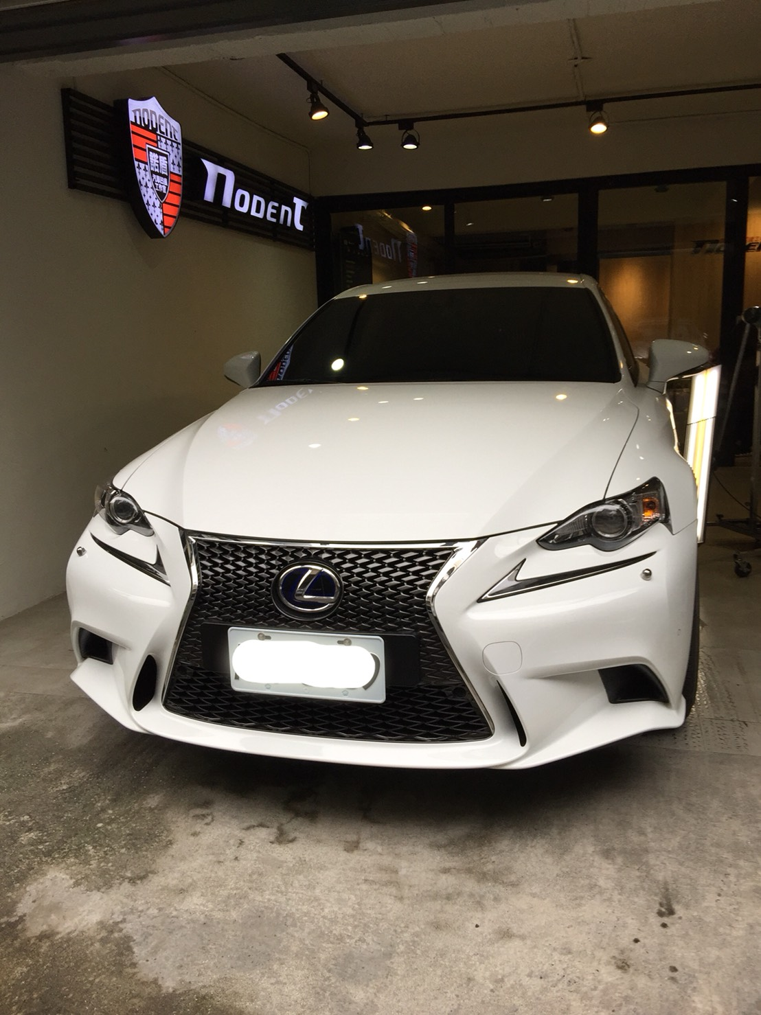 Lexus Is 300h 凹痕修復